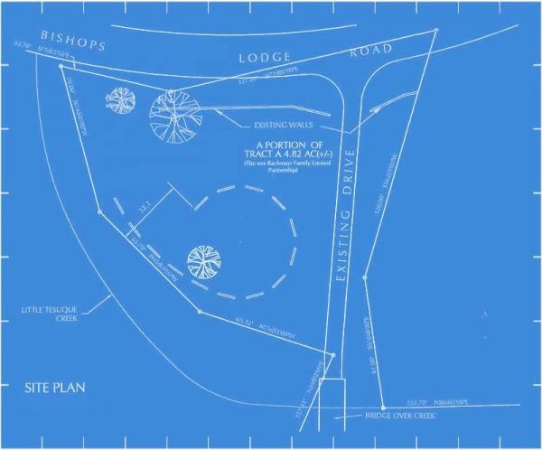 All Creatures Memorial Park site plan